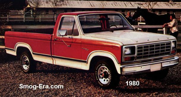 ford ranger smog era com 70s 80s cars rh smog era com 1981 Ford Ranger Pickup Truck 1980 Ford F-250