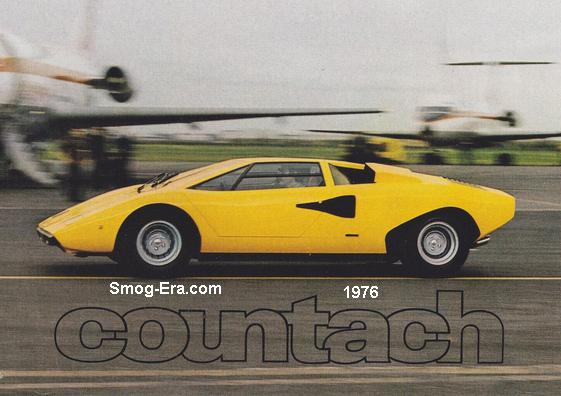 lamborghini countach smog 70s 80s cars. Black Bedroom Furniture Sets. Home Design Ideas