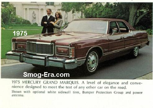 Mercury grand marquis smog era 70s 80s cars grand marquis in 1976 a 400 cid 2bbl v8 was the new standard engine while the 460 was now an option 77 78 were carryover years for the most part publicscrutiny